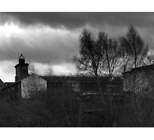 Abandoned Brewery #1 Photographic Print
