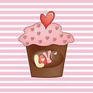 Cupcake love by favoritedarknes