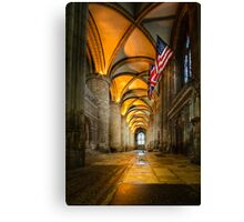Gloucester Cathedral - Allies Canvas Print
