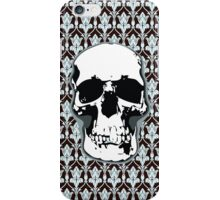 221B Skull Print iPhone Case/Skin