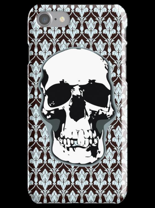 221B Skull Print by favoritedarknes