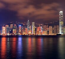 The Amazing Hong Kong Skyline. by Cameron B