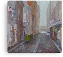 Caledonian Lane Canvas Print