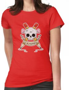 Crabro Skull Womens Fitted T-Shirt
