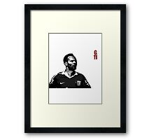 GIGGS the true legend Framed Print