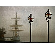 Vintage ship. Photographic Print