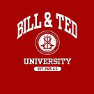 Bill & Ted University by MSMD 1979