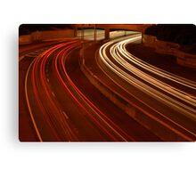 Speed light Canvas Print