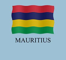 Mauritius flag Womens Fitted T-Shirt