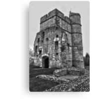 Donnington Castle HDR Canvas Print