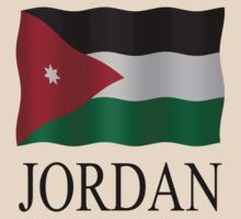 Jordan flag by stuwdamdorp