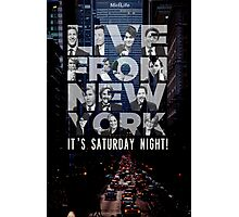 Live From New York, Saturday Night Live Photographic Print