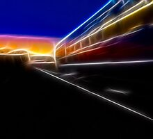 Evening Train by Nigel Butterfield