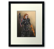 Femshep Framed Print