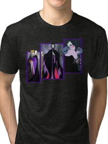Villains Tri-blend T-Shirt