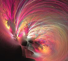 There must be an angel by Fractal artist Sipo Liimatainen