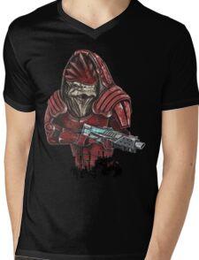 Wrex Mens V-Neck T-Shirt
