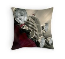 Lights and Chrome Throw Pillow
