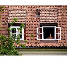 Open Window Photographic Print