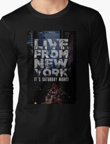 Live From New York, Saturday Night Live Long Sleeve T-Shirt