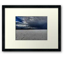 Utah - Bonneville Salt Flats 002 Framed Print
