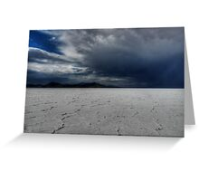 Utah - Bonneville Salt Flats 002 Greeting Card