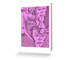energetic enigma Greeting Card