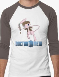 Doctor Mew Men's Baseball ¾ T-Shirt