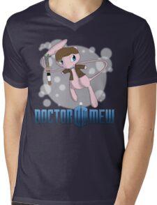 Doctor Mew Mens V-Neck T-Shirt