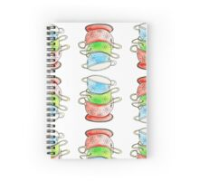 Three Colanders Spiral Notebook