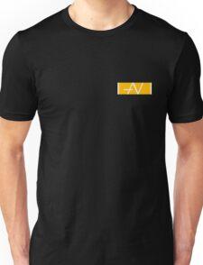 Brand Avend Orange and white Unisex T-Shirt