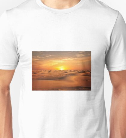 Desert and sunset Unisex T-Shirt