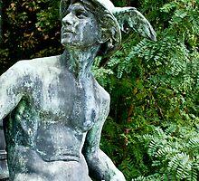 Middleheim Sculpture Park, Antwerp, Belgium - Hermes by Michael Brewer