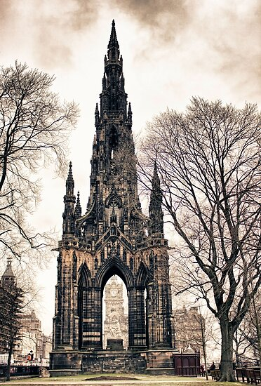 Scott Monument, Edinburgh, UK by Wendy  Rauw