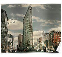 New York The Flatiron Building Poster