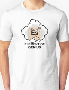Einstein, Witty Geek Unisex T-Shirt