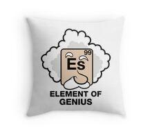 Einstein, Witty Geek Throw Pillow