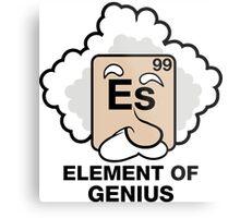 Einstein, Witty Geek Metal Print