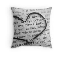 13:8 Throw Pillow