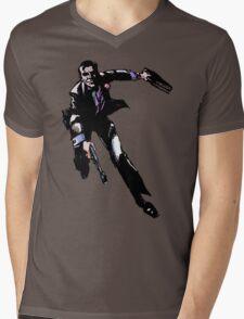 Run, James Mens V-Neck T-Shirt