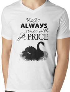 Magic Always Comes With A Price. Dark Swan. Mens V-Neck T-Shirt