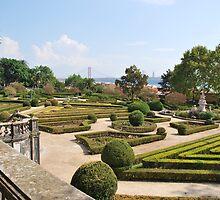 Enchanted Ajuda garden in Lisbon by luissantos84