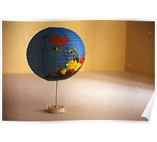 I Love To Turn My Little Blue World Upside Down Poster