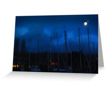 Right out My Backyard Series: Moonlight Secrets Greeting Card