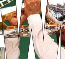 Lewis Hamilton - World Champion Sticker