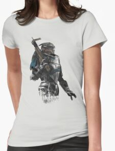A busy Turian Womens Fitted T-Shirt