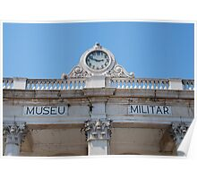 Military museum in Lisbon Poster