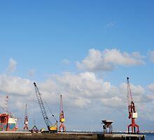 Shipyard in Lisbon by luissantos84