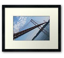 25th April bridge in Lisbon Framed Print