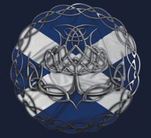 Chrome Celtic Knot Thistle by Packrat